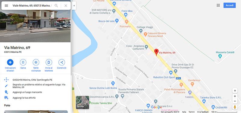 Tappezzeria Esteban - Viale Matrino, 69 - Città S.Angelo (PESCARA)